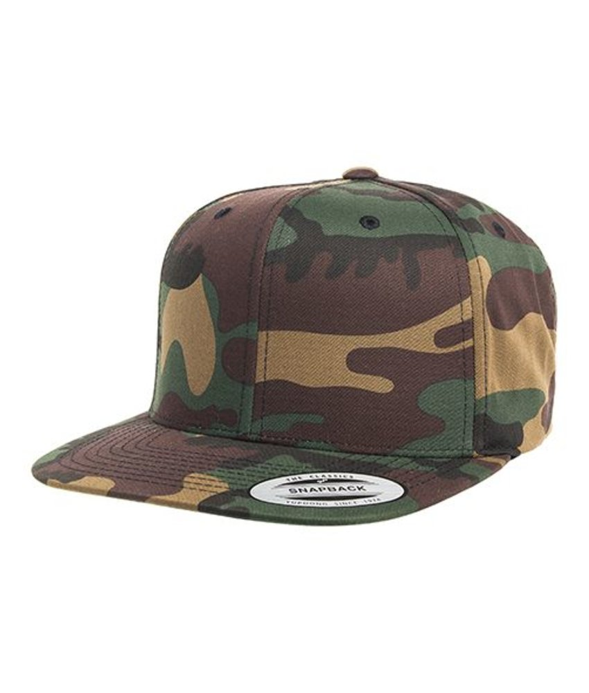 The Classics Yupoong Classic Snapback in Camo