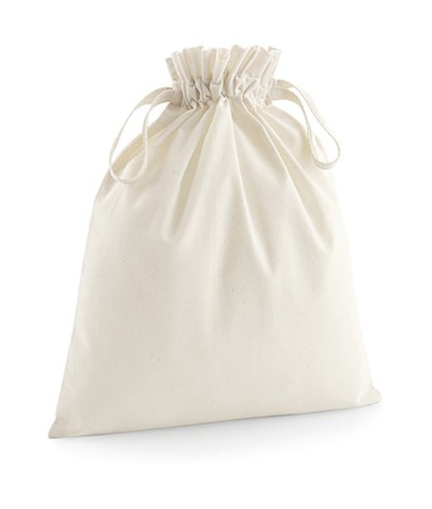 Westford Mill | W118 | 632.28 | W118 | Organic Cotton Drawcord Bag