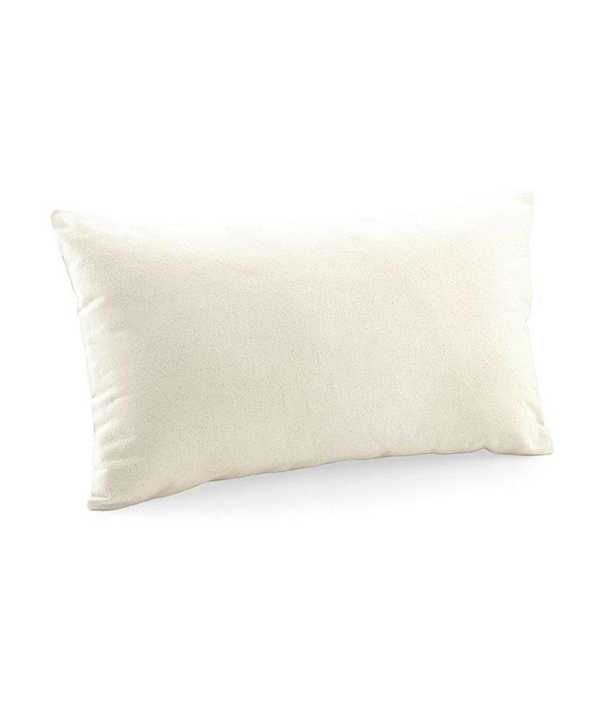 Westford Mill Fairtrade Cotton Canvas Cushion Cover