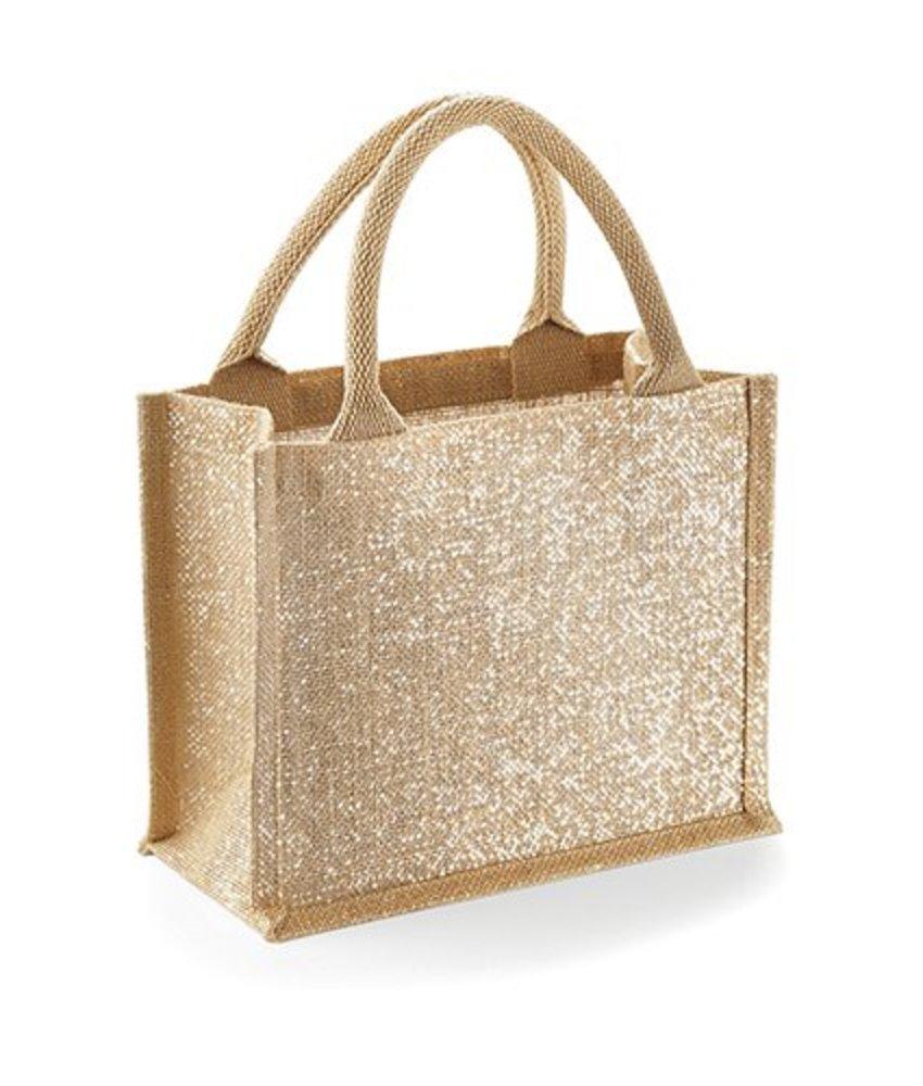 Westford Mill Shimmer Jute Mini Gift Bag
