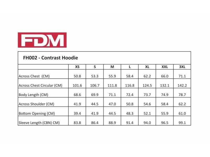 FDM Contrast Hoodie