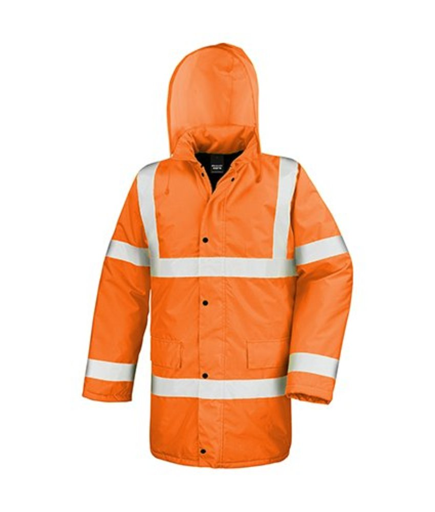 Result Safe Guard | R218 | 818.33 | R218X | Core High Viz Motorway Coat