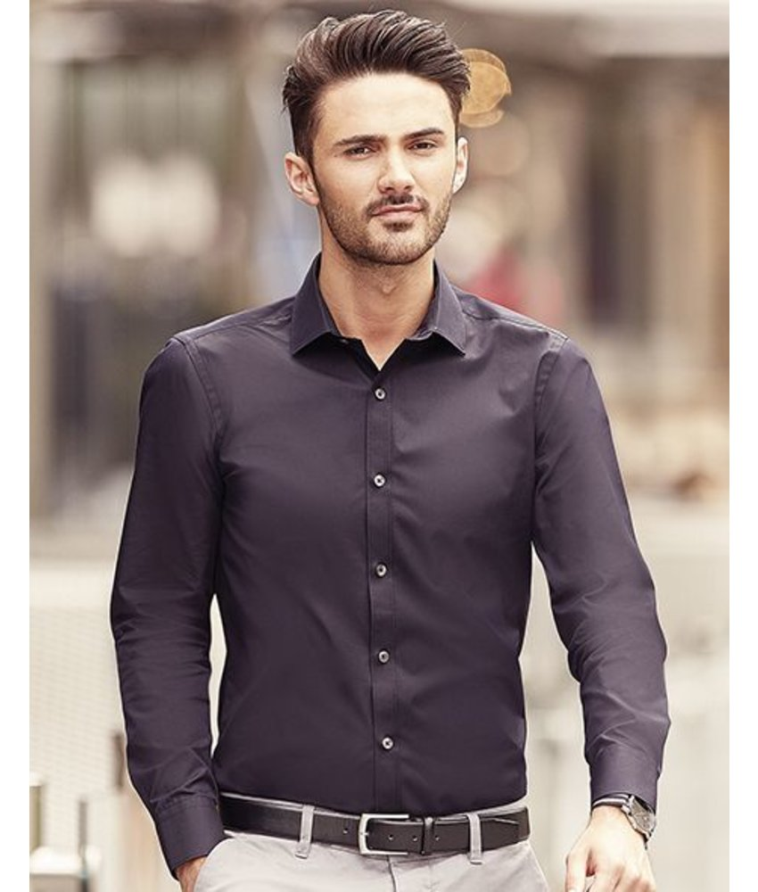 Russell Collection Men's LS Ultimate Stretch Blouse