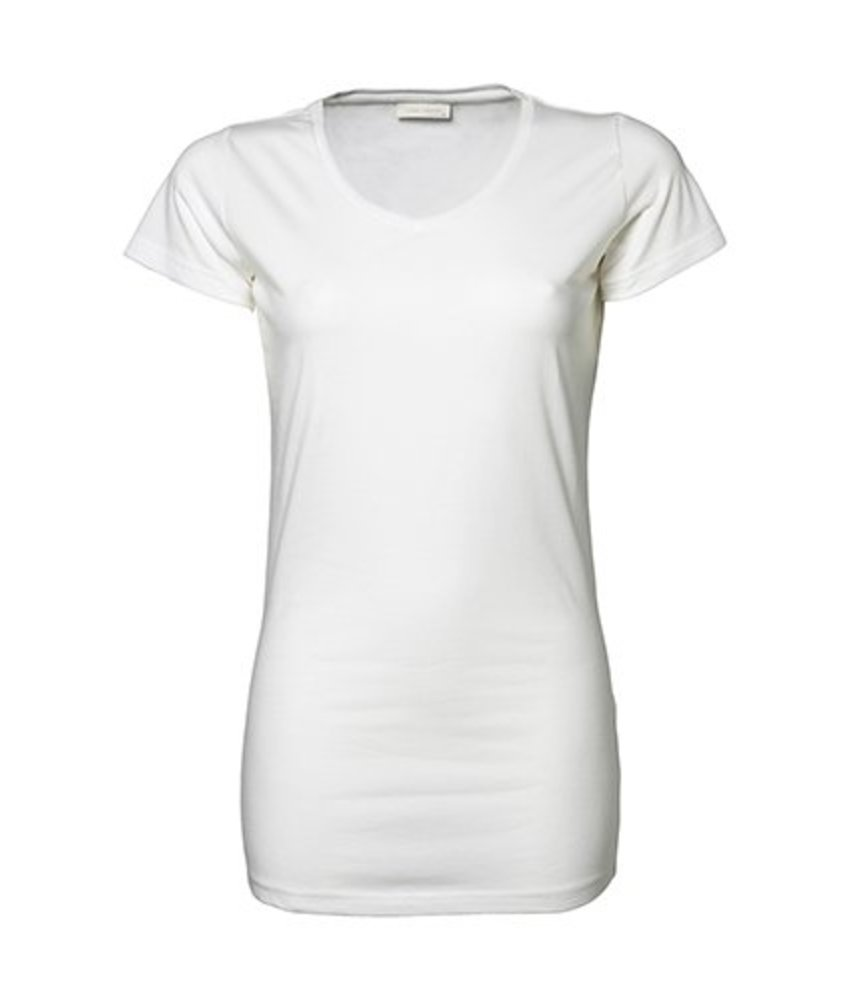 Tee Jays Ladies Stretch T-Shirt Extra Long