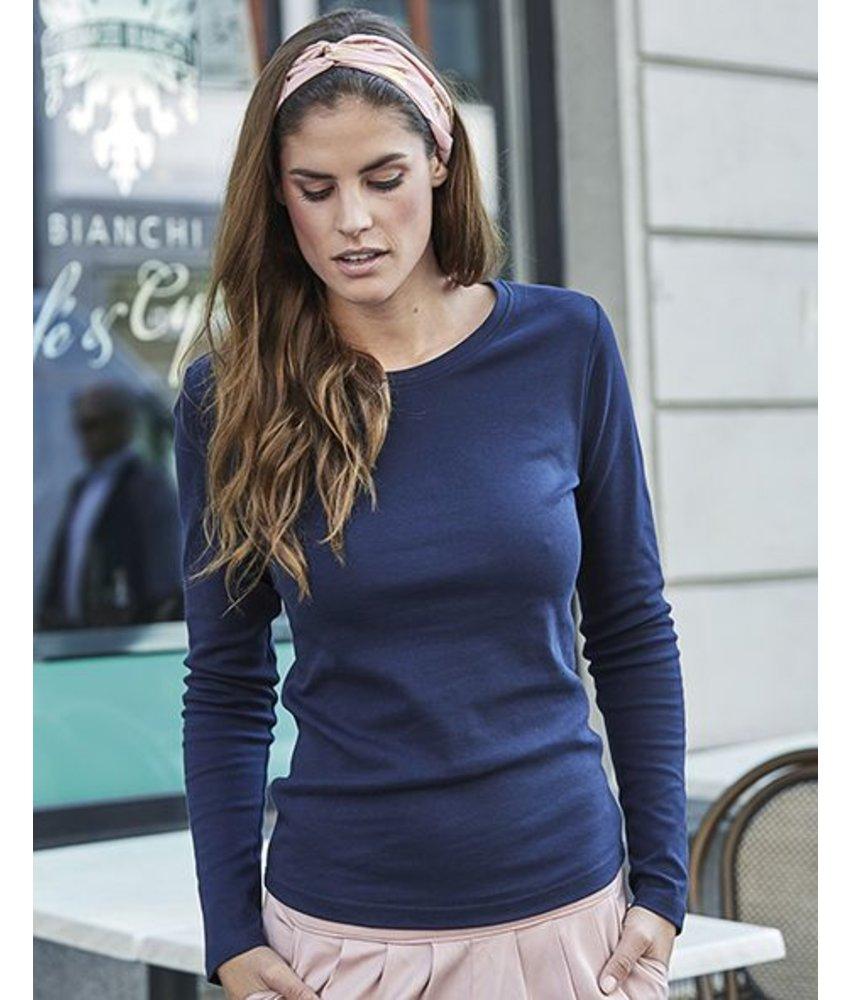 Tee Jays Ladies LS Interlock T-Shirt