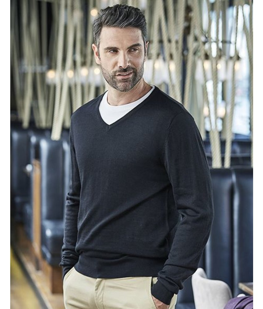 Tee Jays Men's V-Neck Sweater