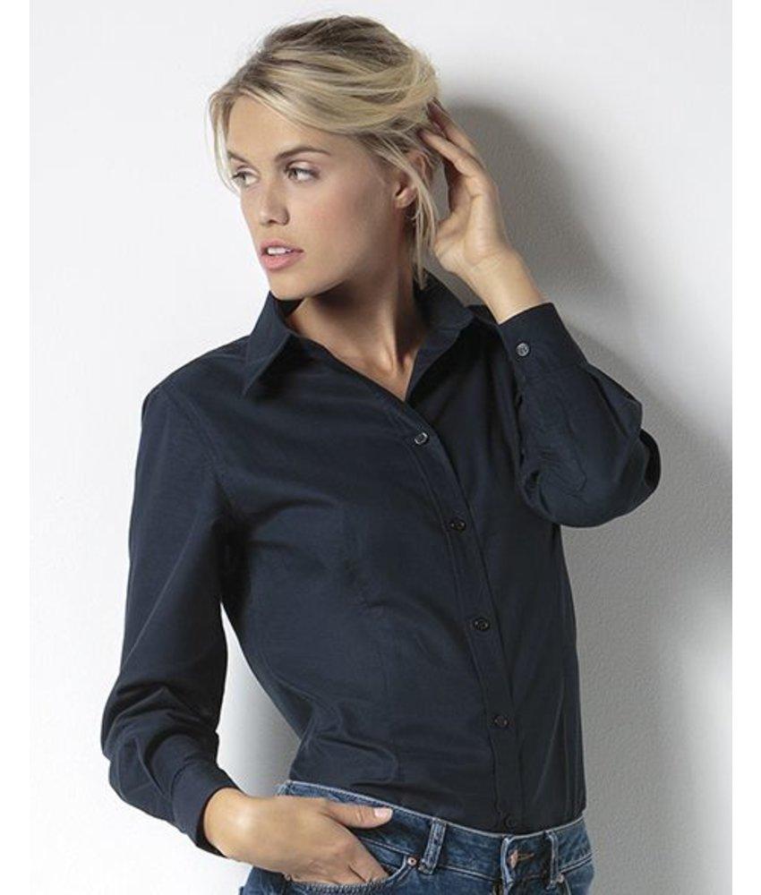 Kustom Kit Workwear Oxford Blouse LS