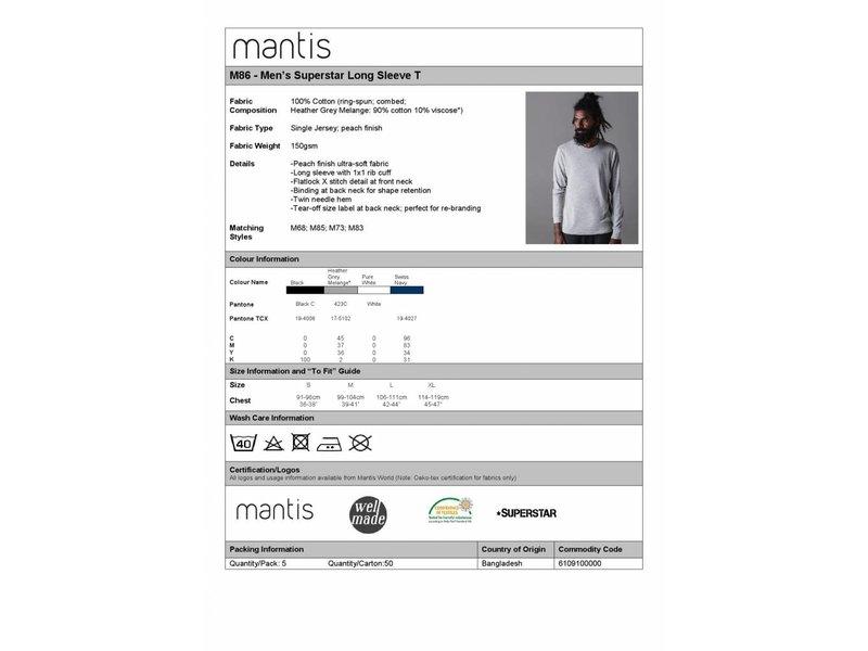 Mantis Men's Superstar LS T-Shirt