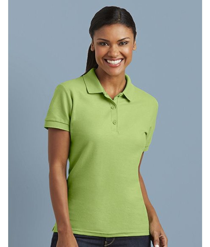 Gildan Premium Cotton Ladies' Double Pique Polo