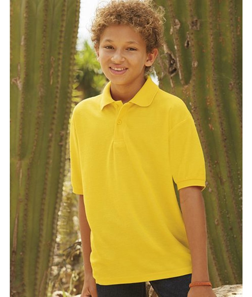 Fruit of the Loom Kids Polo 65:35