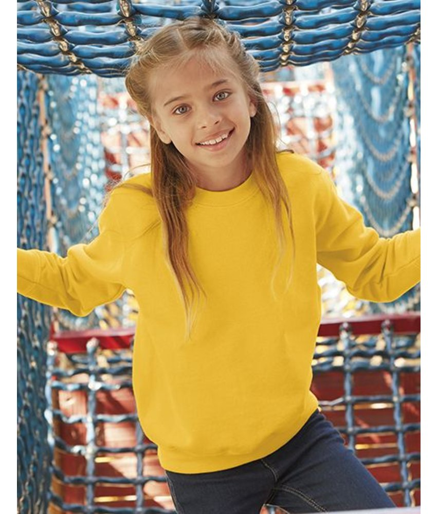 Fruit of the Loom Kids Set-In Sweater
