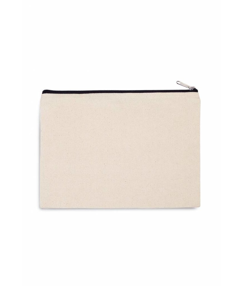 Kimood | KI0722 | Cotton canvas pouch - large