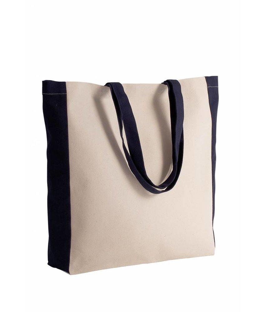 Kimood | KI0275 | Two-tone tote bag