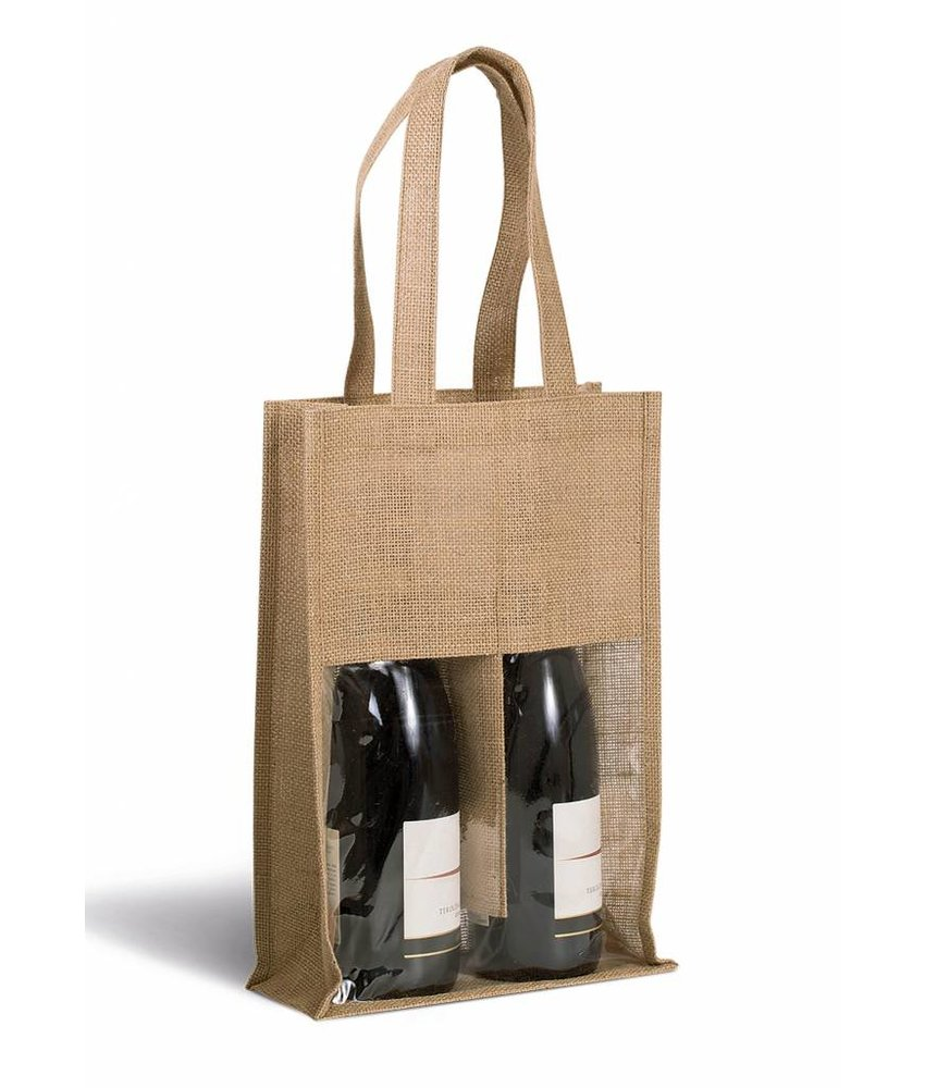 Kimood | KI0268 | Jute bottle bag