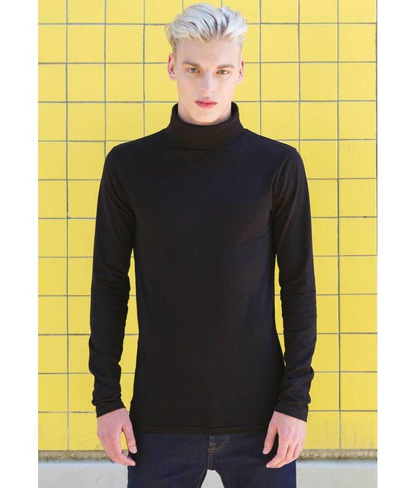Skinni Fit   SFM125   Men's Feel Good Roll Neck T-Shirt