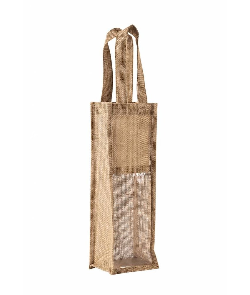 Kimood | KI0267 | Jute bottle bag