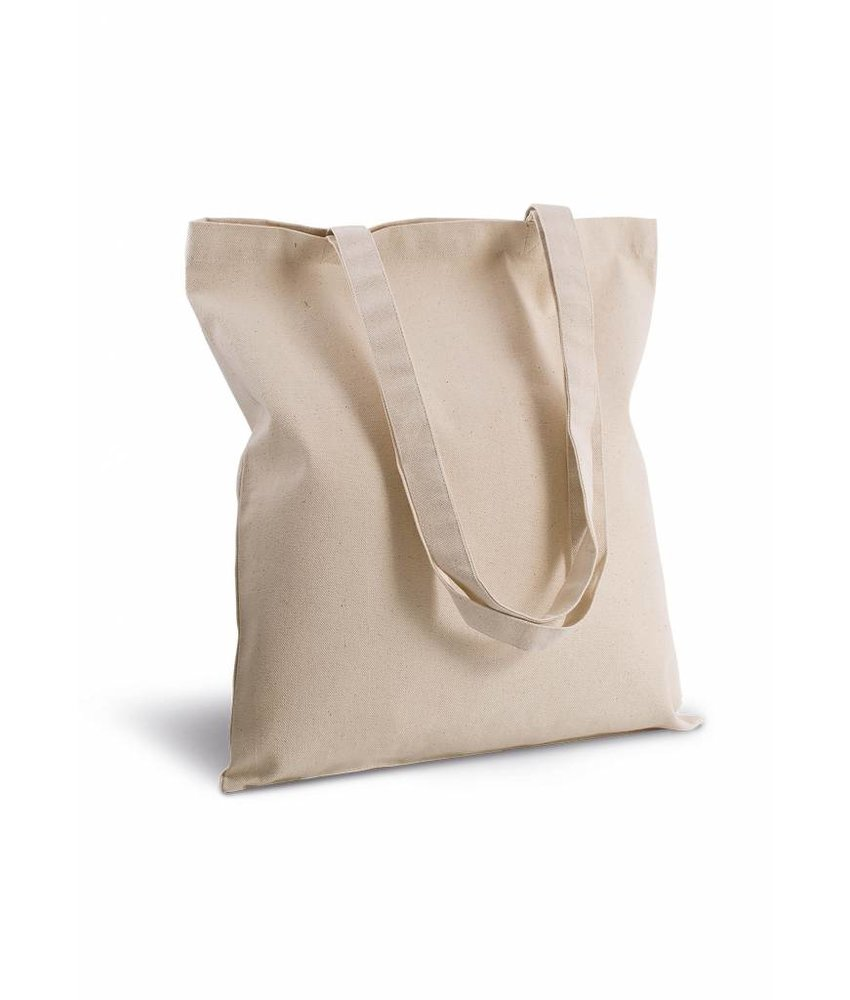 Kimood | KI0250 | Cotton canvas shopper bag