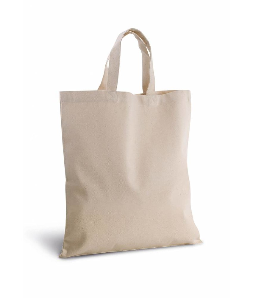 Kimood | KI0249 | Cotton canvas shopper bag