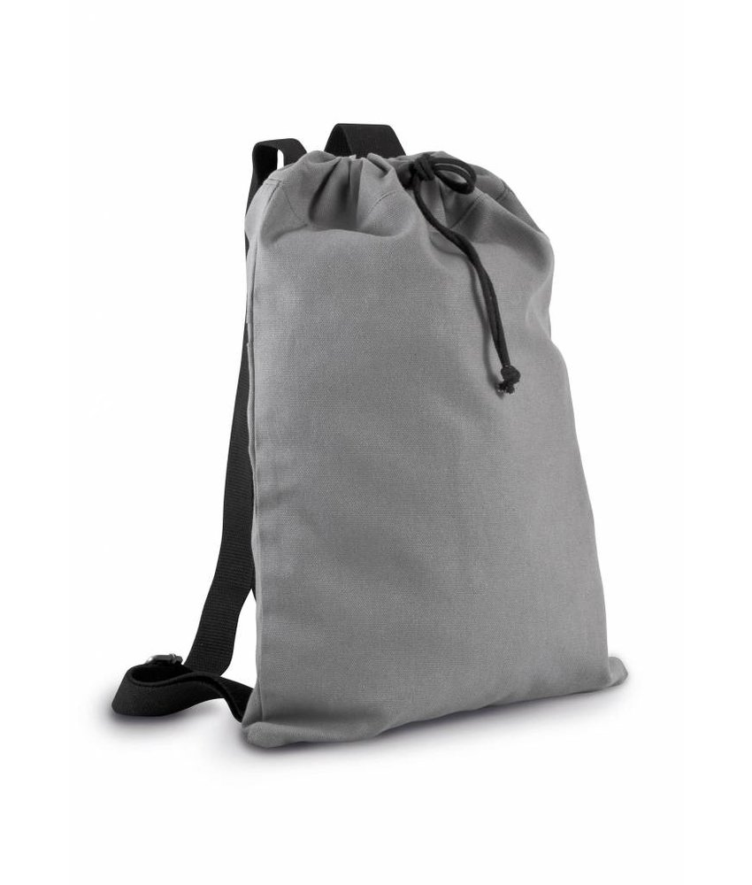 Kimood | KI0140 | Cotton canvas backpack