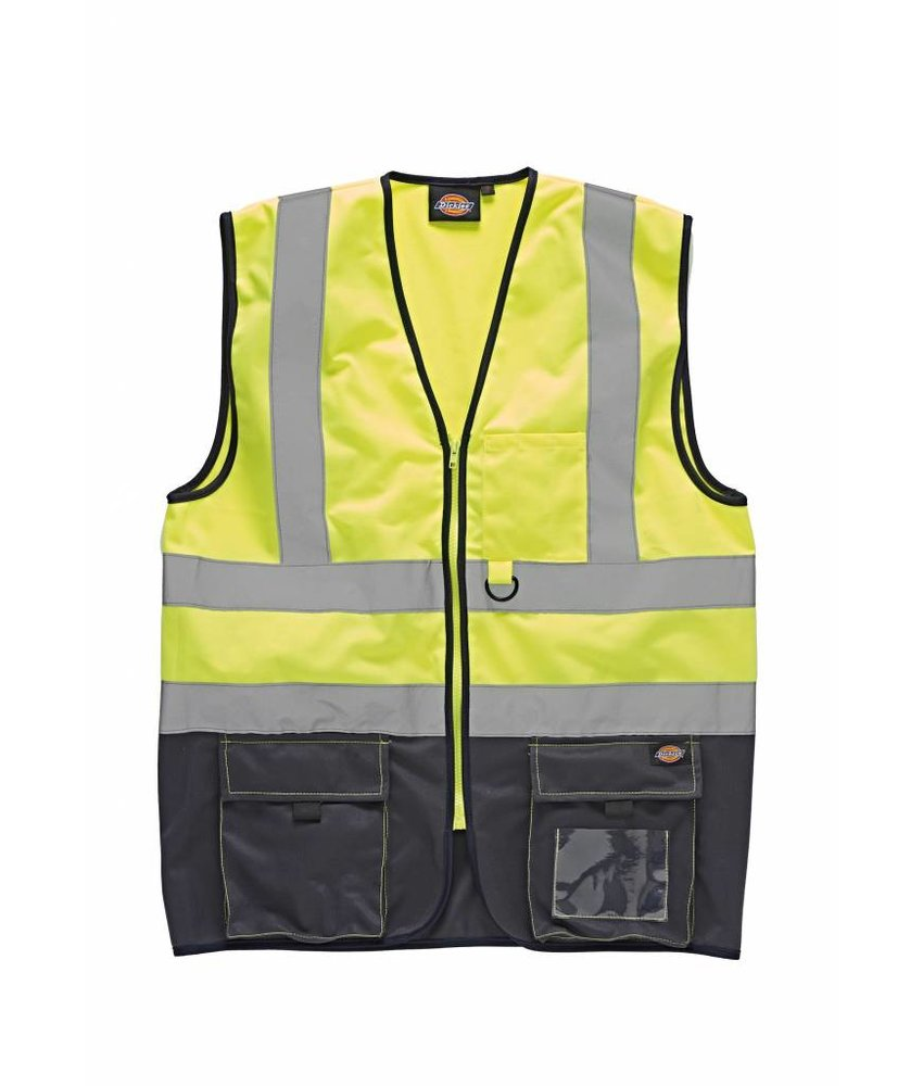 Dickies | DSA22021 | High Visibility Two Tone Waistcoat