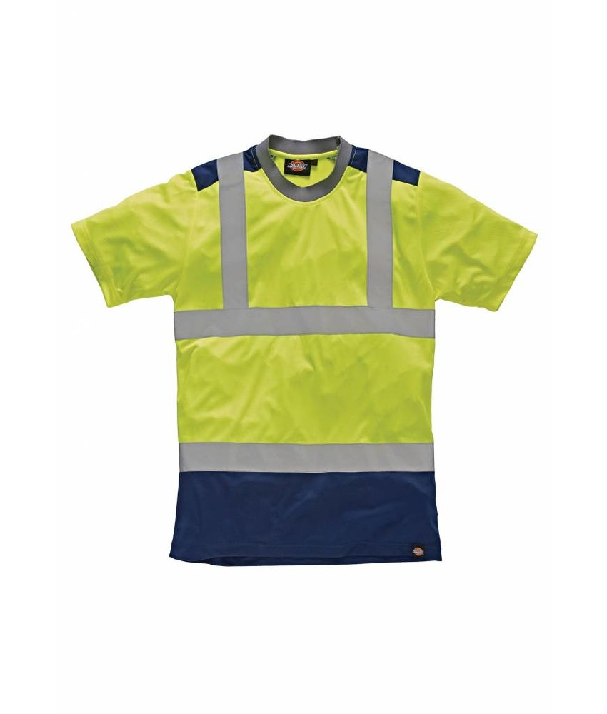 Dickies | DSA22081 | High Visibility Two Tone T-shirt