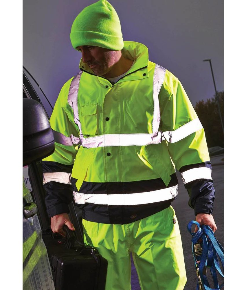 Dickies | DSA7005 | High Visibility Two Tone Jacket
