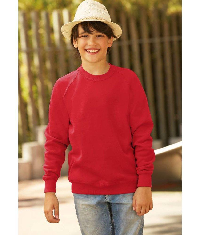 Fruit of the Loom Kids Raglan Sweater