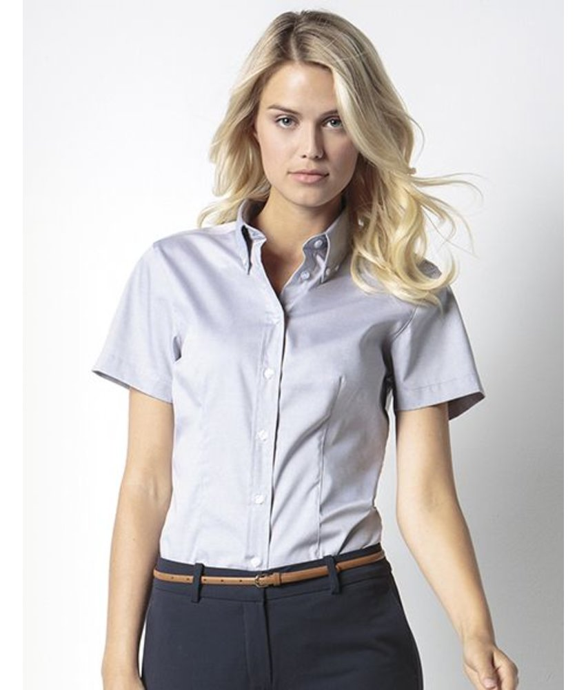 Kustom Kit Ladies Corporate Oxford Blouse