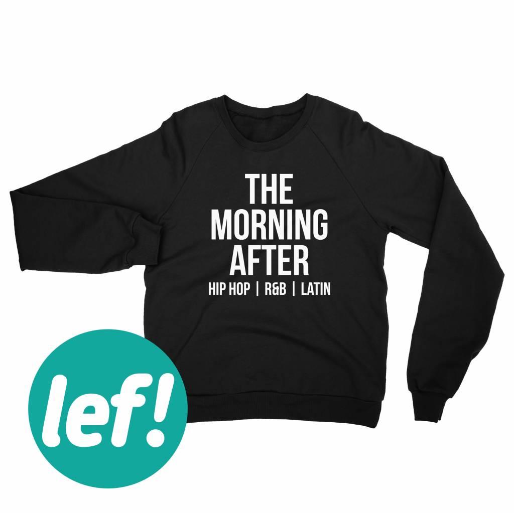 Sweaters Bedrukt Voor The Morning After Bij Textieldrukkerij Kwestievanlef In Nijmegen