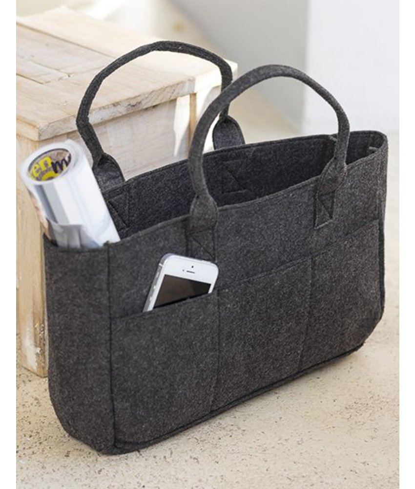 Bags by Jassz Pocket Felt Shopper