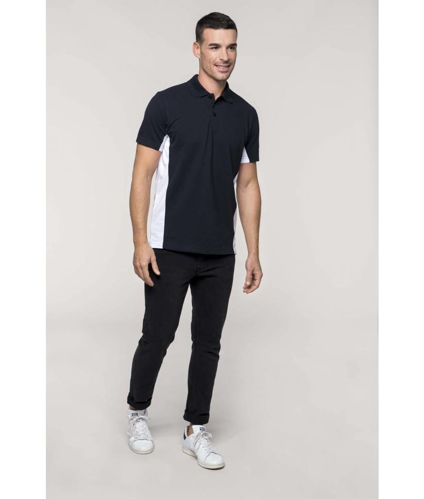 Kariban Flag - Short Sleeve Bi-colour Polo