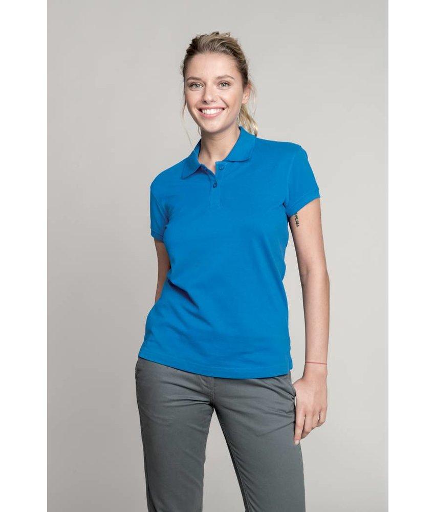 Kariban Ladies' Short Sleeve Pique Polo