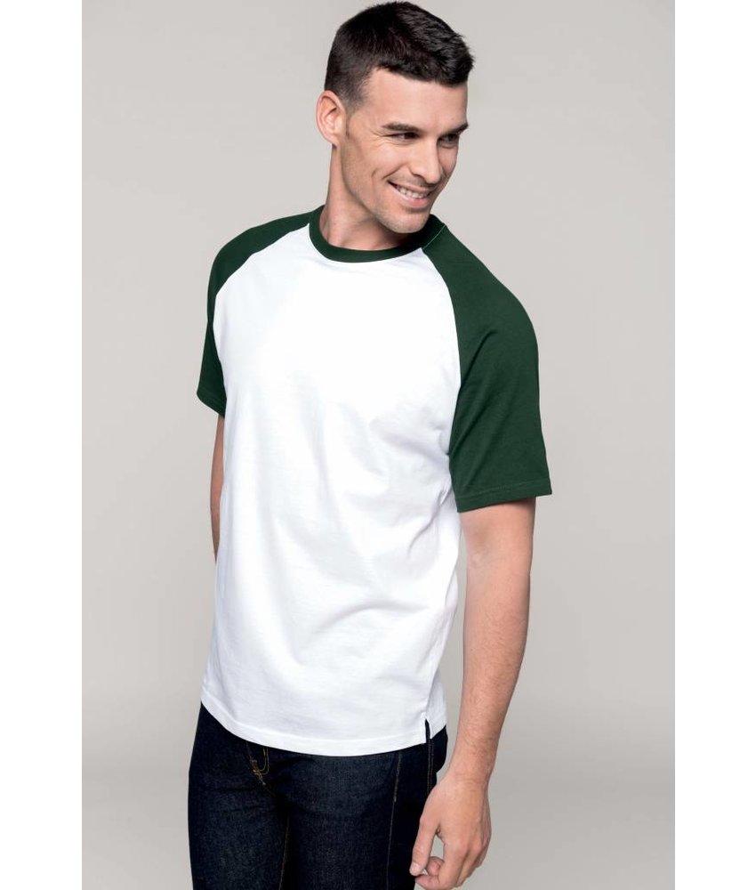 Kariban Base Ball - Contrast T-shirt