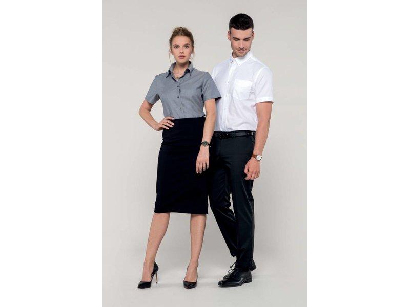 Kariban Men's Short Sleeve Easy Care Oxford Blouse