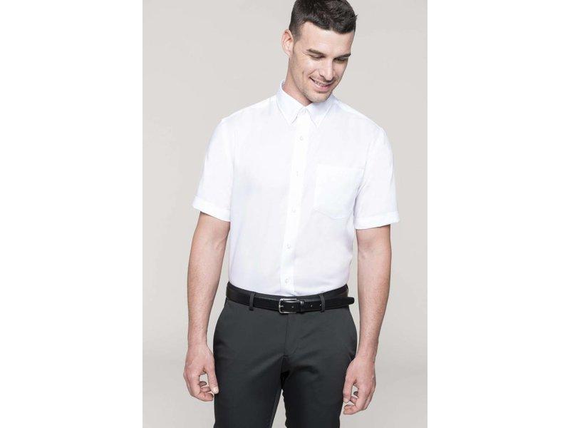 Kariban Men's Short Sleeve Supreme Non Iron Blouse
