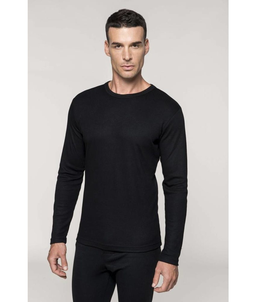 Kariban Heren thermoshirt lange mouwen