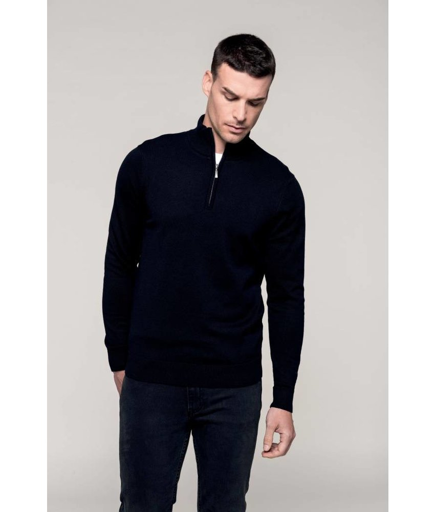Kariban Men's 1/4 Zip Jumper