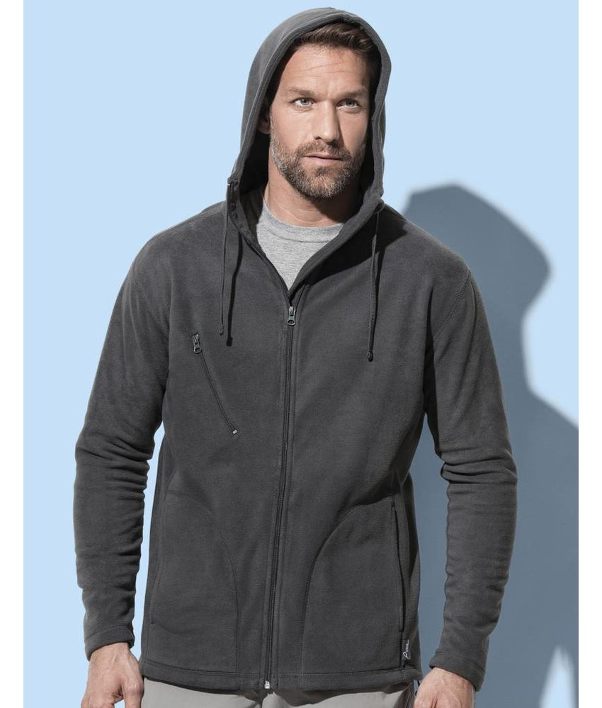 Stars by Stedman Active Hooded Fleece Jacket