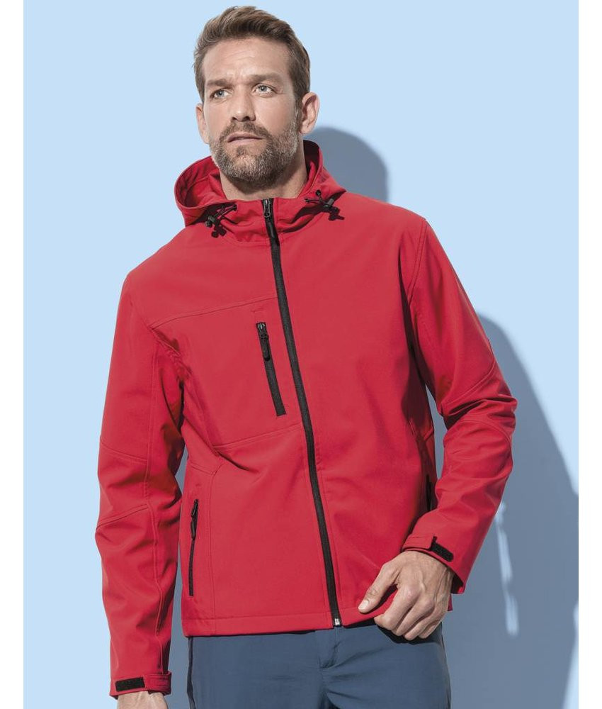 Stars by Stedman Active Softest Shell Hooded Jacket