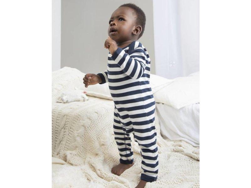 Babybugz Baby Striped Rompasuit