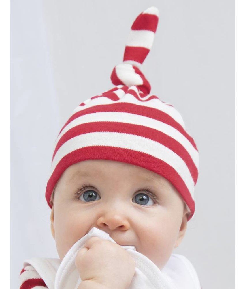 Babybugz Baby Striped 1 Knot Hat