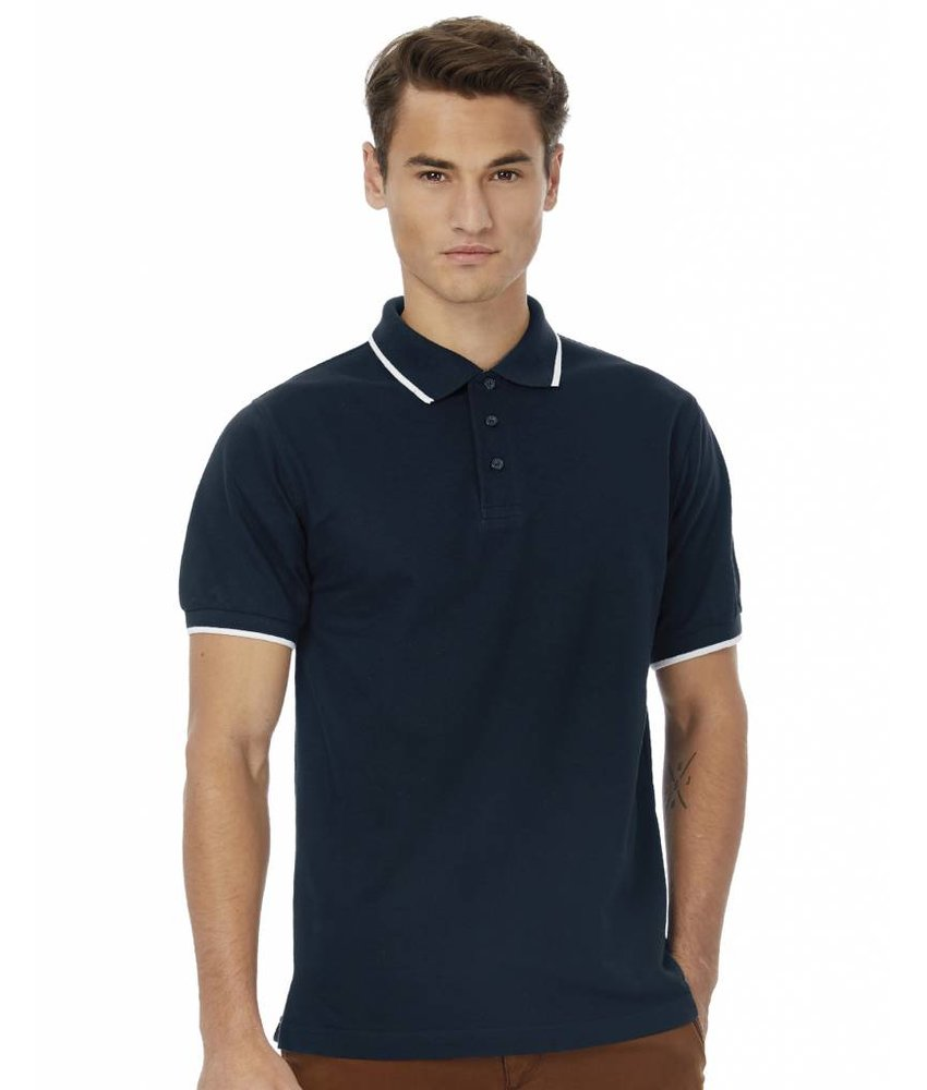 B&C Tipped Polo