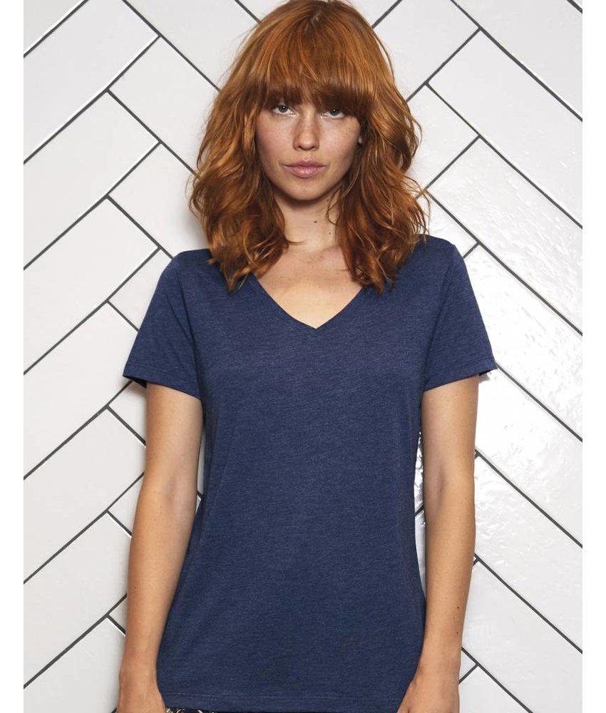 B&C Triblend V-Neck T-Shirt Women - TW058