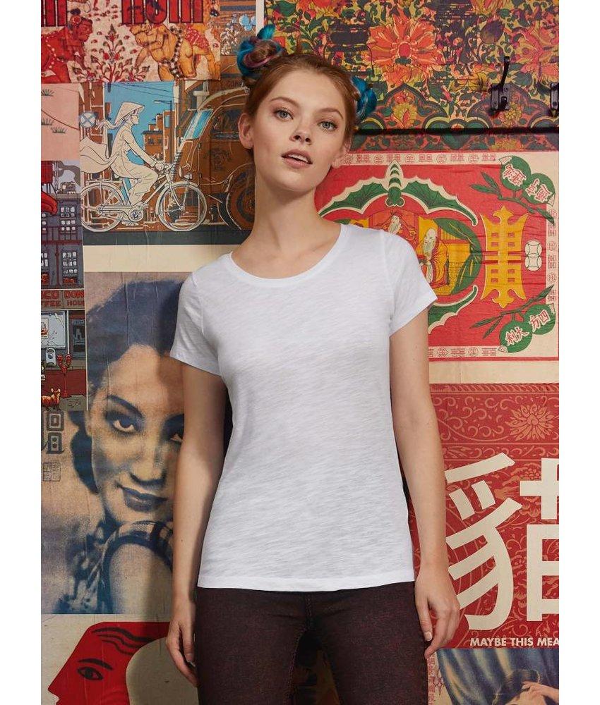 B&C Slub T-Shirt Women