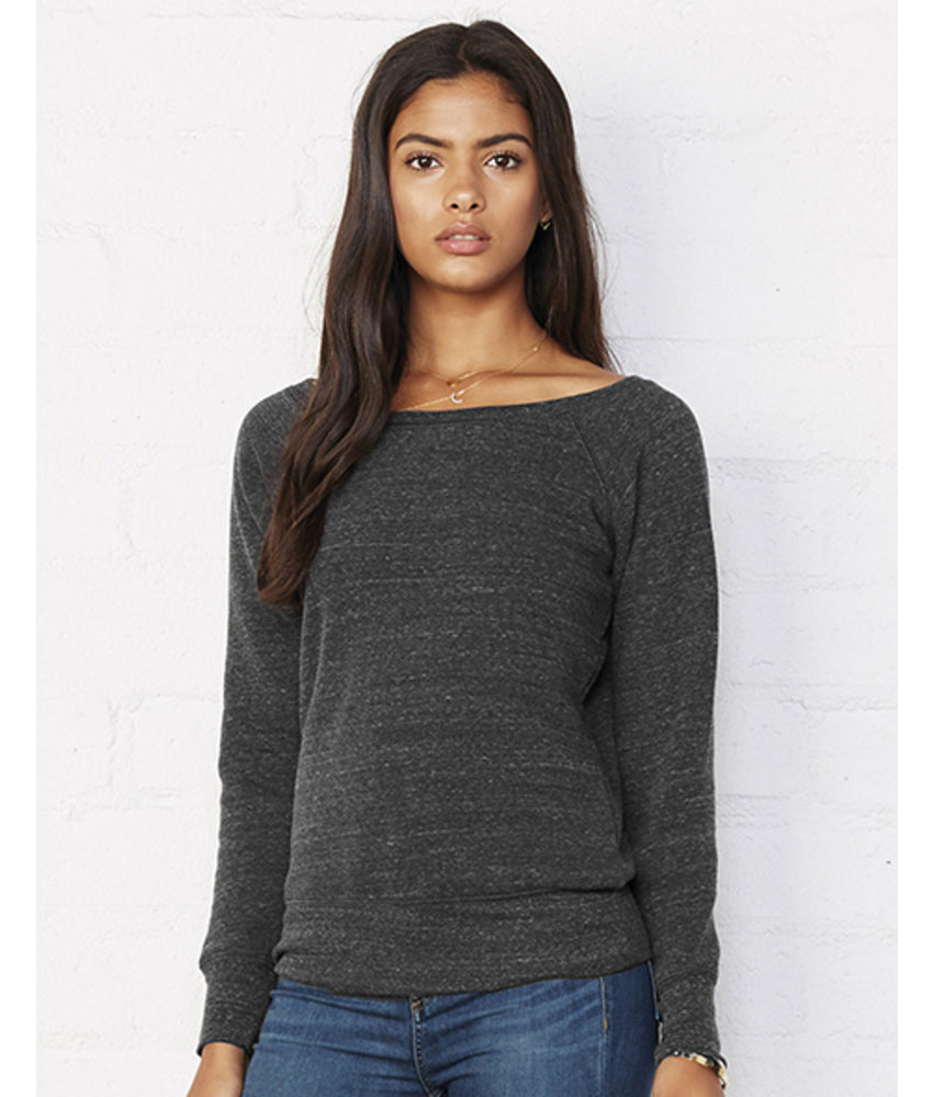 Bella + Canvas Mia Slouchy Wideneck Sweater