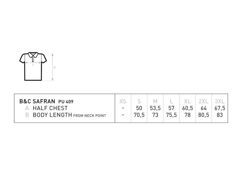 B&C Safran Piqué Polo