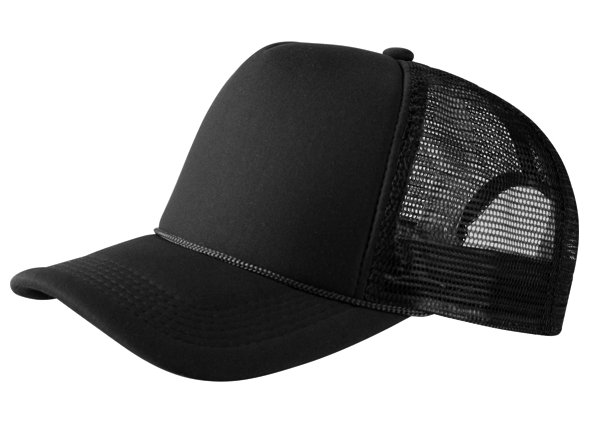 10236 | Kwestievanlef Trucker Cap Black