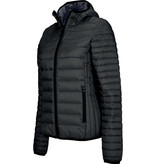 Kariban Ladies' lightweight hooded down jacket
