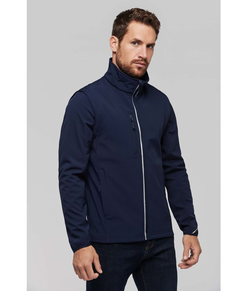 Proact Detachable Sleeve Softshell Jacket