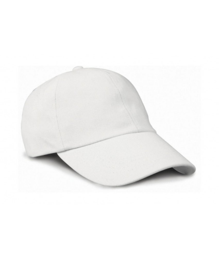 Result Headwear Flat Brushed-Cotton-Cap